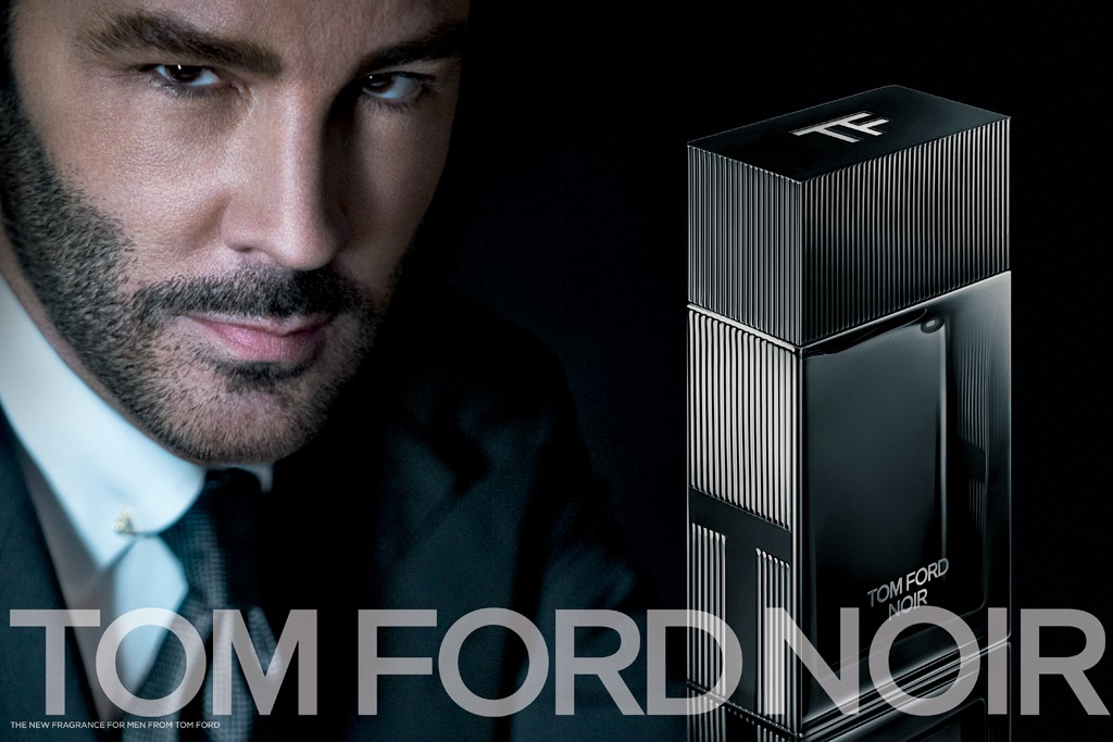 Tom Ford Noir fragrance ad